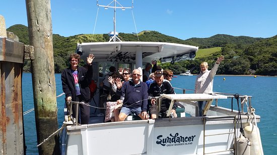 Great Barrier Island, Νέα Ζηλανδία: All Aboard - Sundancer Cruise Time!