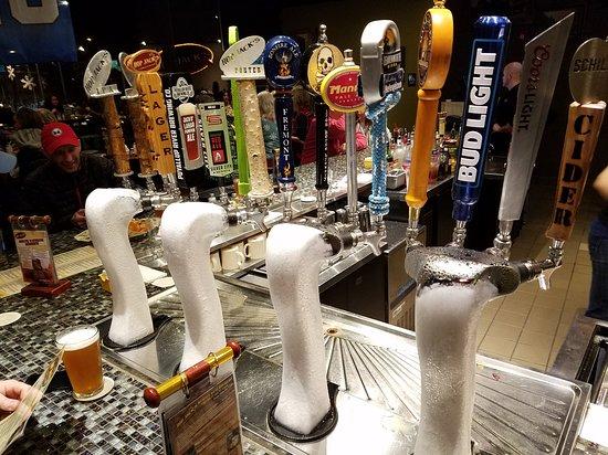 Auburn, WA: Ice cold beer!
