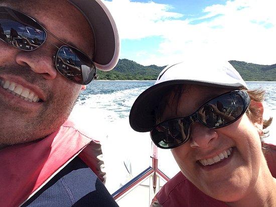"La Cruz, Κόστα Ρίκα: On the ""Sea"" part of the ""Land and Sea"" tour"