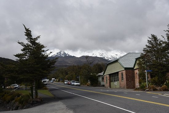 Whakapapa, Nowa Zelandia: View from outside the visitor's centre