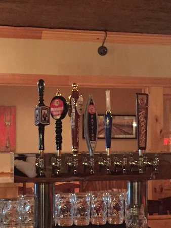 Windham, NY: Beers on tap!