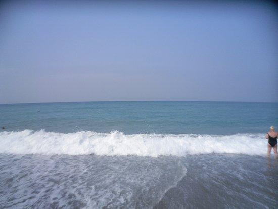 Turkish Mediterranean Coast, Turkey: ПЛЯЖ ГАЛЬКА