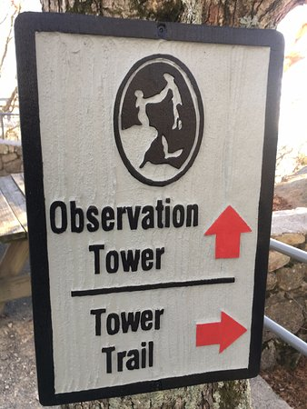 Blowing Rock, NC: sign