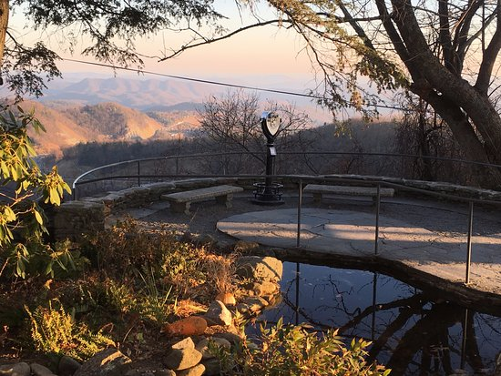 Blowing Rock, Carolina del Norte: a view spot