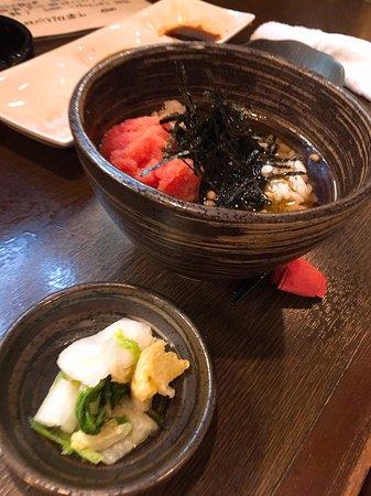 Neyagawa, Japón: お茶漬け(明太子)
