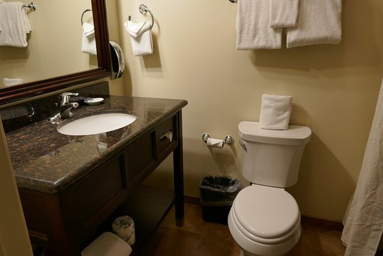 Good lighting in bathroom - Picture of Palm Mountain Resort & Spa ...