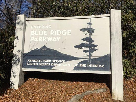 Spruce Pine, NC: BRP sign