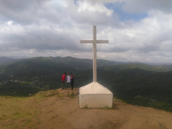 Idukki District, Indie: Ottakathala Medu Mountain Range