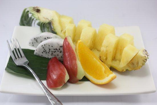 Pak Nam Pran, Tailândia: fruit plate