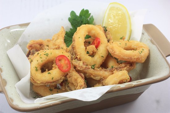 Pak Nam Pran, Tailândia: calamari