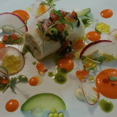 Merignac, ฝรั่งเศส: Crabe / radis / citron