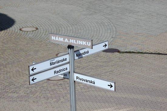 Zilina, Slovakia: Piazza