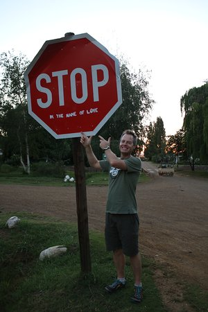 Rhodes, Sudáfrica: Stop! In the name of love!