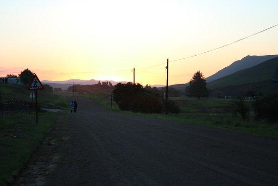 Rhodes, Sudáfrica: Sunset