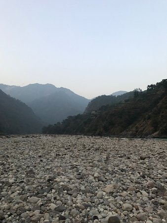 Singthali Village, India: River bed