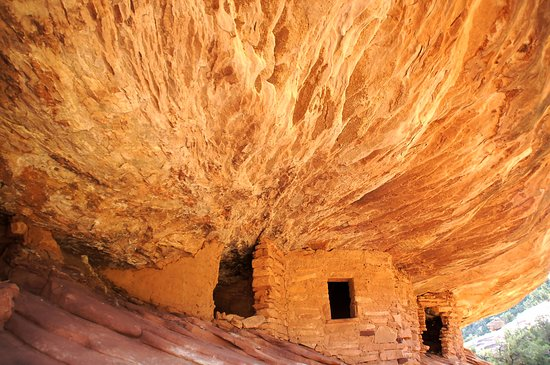 Mule Canyon Ruins: House on Fire Ruin.