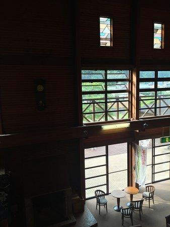 Nantan, Japonya: 吹き抜けのロビー