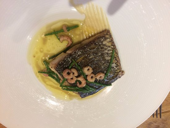 East Lodge Country House Hotel: Sea Bass