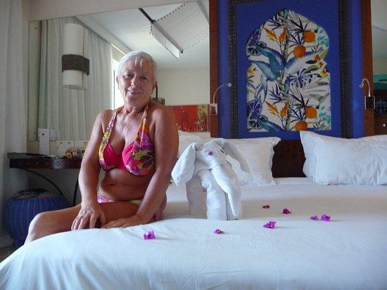La Palmeraie Hotel: PETITE ATTENTION DU VALET DE CHAMBRE : SAILESH