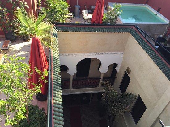 Riad Palais Delia : Terrasse toit
