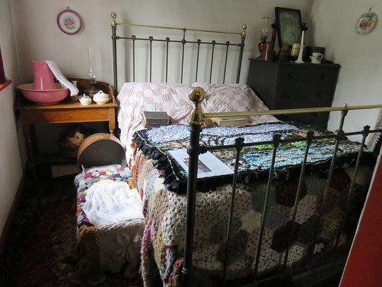 Ironbridge, UK: interior of a house