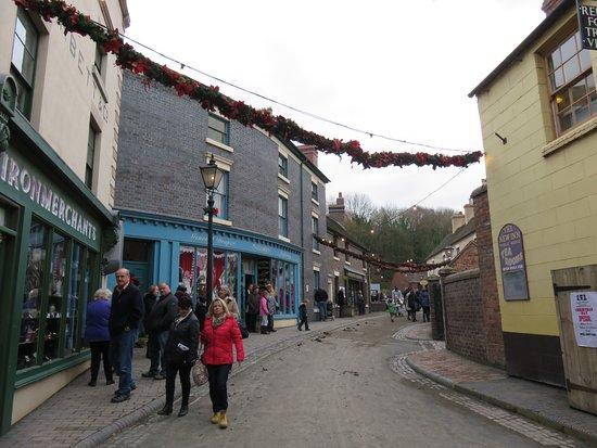 Ironbridge, UK: street scene