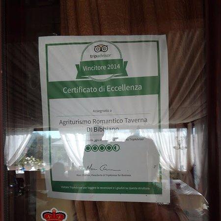 Colle di Val d'Elsa, Włochy: トリップアドバイザーのマーク!