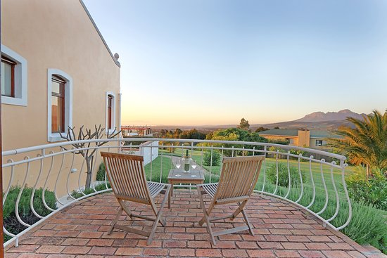 Gordon's Bay, Zuid-Afrika: Mediterranean Suite private balcony