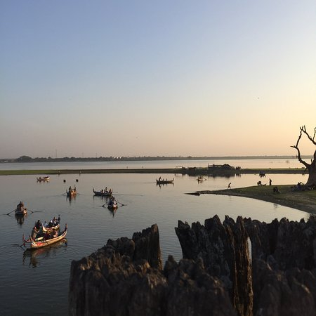 Amarapura, Myanmar: Come here during sunset! Breathtaking scenery! Discover the interesting history behind this brid