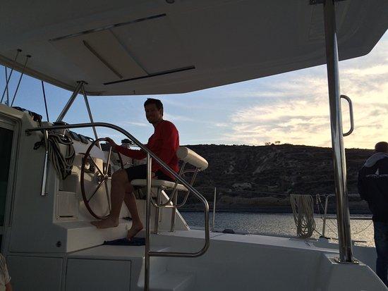 Firostefani, Grecia: Santorini Sailing