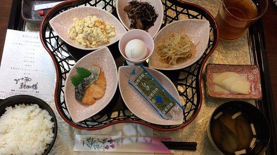 Misawa, Japan: 部屋で食べる朝食 みさ和朝御膳