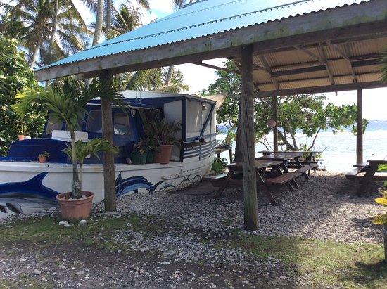 Flying Boat Fish & Chips: Ein ausrangiertes Fischerboot wurde zum Take-away umfunktioniert