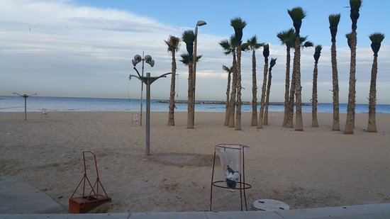 Hotel Prima Tel-Aviv: the beach is attracting even in november/december