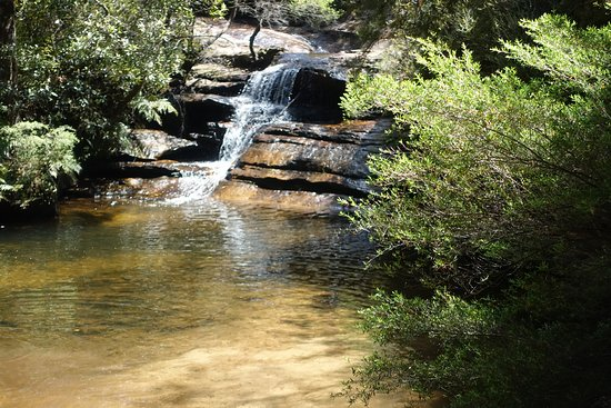 Blackheath, Australia: Nice little pool to cool off at Popes Glen (north)