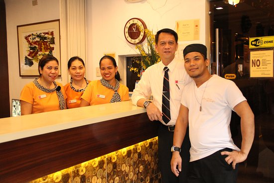 Stone House Quezon City: The Staff at the hotel. They made my stay very memorable