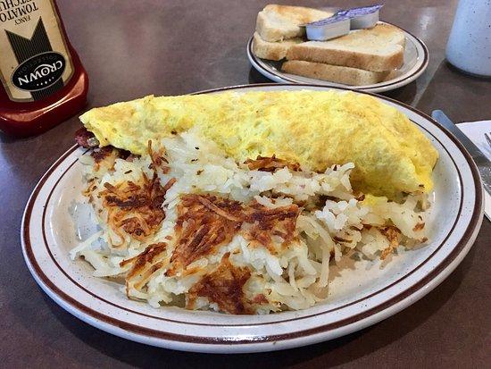 Jackson, MI: Irish omelette