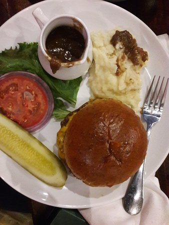 Park Ridge, IL: Burger; Substituted mash potatoes for fries