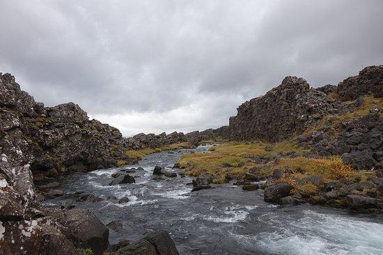 Thingvellir, Islandia: Река