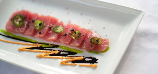 Nectar at Florblanca Resort: Yellowfin Tuna Sashimi