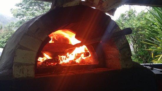 Tapu, Nowa Zelandia: four à pizza