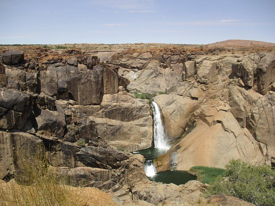 Augrabies Falls National Park, Sudáfrica: Twin Falls im Augrabies NP