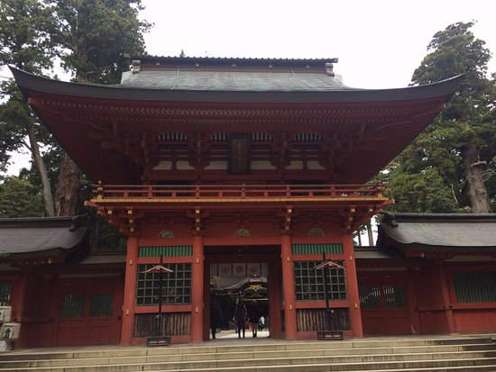 Katori, Japan: 楼門外観