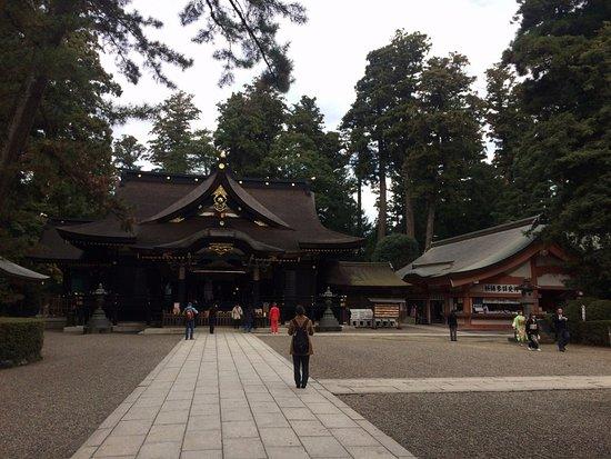 Katori, Japan: 社殿外観