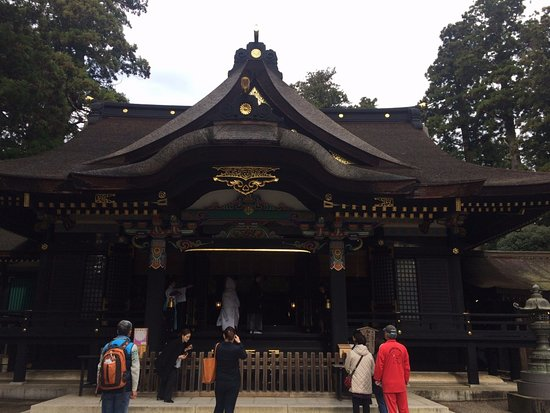 Katori, Japan: 社殿(拝殿+御本殿)