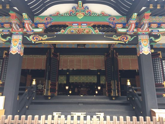 Katori, Japan: 拝殿内部