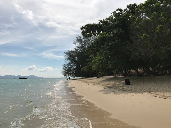 Kantang, Tailandia: Hoteleigener Strand