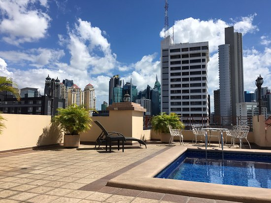 Hotel Coral Suites: Rooftop swimming pool