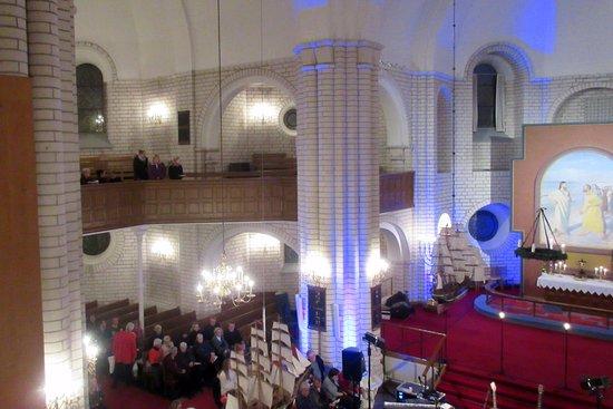 Frederikshavn, Danemark : Udsigt fra pulpituret