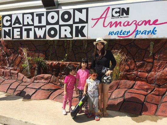 аквапарк в паттайе cartoon network - Picture of Cartoon Network Amazone, Jomt...