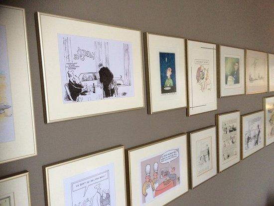 Kaatjes Residence: Tekeningen van politieke tekenaars als waardering